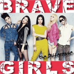 "[PRE-ORDER] BRAVE GIRLS - Single Album ""THE DIFFERENCE"""