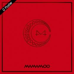 """[PRE-ORDER] MAMAMOO - 7th Mini Album """"RED MOON"""""""