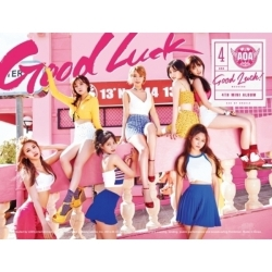 "[PRE-ORDER] AOA - 4th Mini Album ""GOOD LUCK"" (WEEKEND Ver.)"