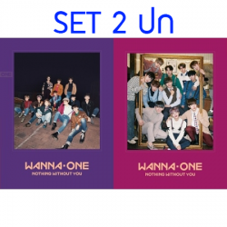 """[PRE-ORDER] WANNA ONE - To Be One Prequel Repackage """"1-1=0 (NOTHING WITHOUT YOU)"""" (SET 2 ปก)"""