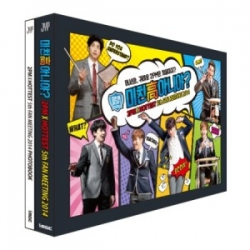 [PRE-ORDER] 2PM - 2PM X HOTTEST 5th FAN MEETING 2014 `CLASS OF 2PM` (2DVD+68p Photobook+Random Student Card)