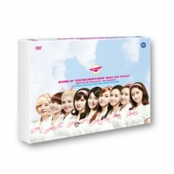 "[PRE-ORDER] Girls' Generation - World Tour ""Girls & Peace In SEOUL"" (2DVD)"