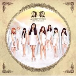 "[PRE-ORDER] AOA - 1st Single Album ""Angels' Story"""