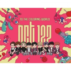 "[PRE-ORDER] NCT 127 - Coloring Paper Set ""TO THE COLORING WORLD! NCT 127"""