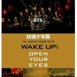 """[PRE-ORDER] BTS - 1st Japan Tour 2015 """"Wake Up: Open Your Eyes"""" (BLU-RAY)"""