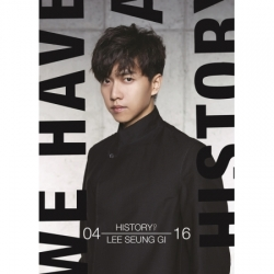 """[PRE-ORDER] LEE SEUNG GI - Special Album """"THE HISTORY OF LEE SEUNG GI"""""""