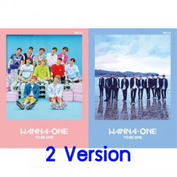 "[PRE-ORDER] WANNA ONE - 1st Mini Album ""1X1=1 (TO BE ONE)"" (SET 2 ปก) (Re-Stock ใหม่ 09/07/61 มีโปสปกชมพู)"
