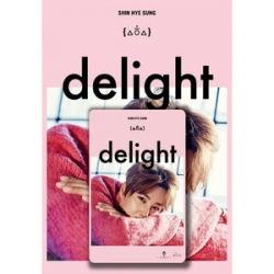 "[PRE-ORDER] Shin Hye Sung (SHINHWA) - Special Album ""DELIGHT"" (Kino card Edition)"