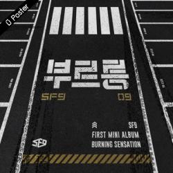 "[PRE-ORDER] SF9 - 1st Mini Album ""BURNING SENSATION"""
