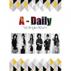 "[PRE-ORDER] A-DAILY - 1st Single Album ""A-DAILY"""