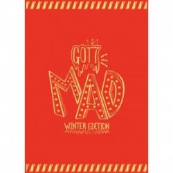 """[PRE-ORDER] GOT7 - 4th Mini Album Repackage """"MAD Winter Edition"""" (Happy Ver.)"""