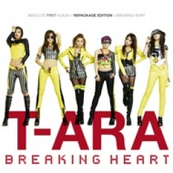 "[PRE-ORDER] T-ARA - 1st Album Repackage ""Breaking Heart"""