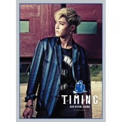 "[PRE-ORDER] KIM HYUN JOONG - 4th Mini Album ""TIMING"" Limited Edition"