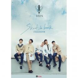 "[PRE-ORDER] 100% - 4th Mini Album ""SKETCHBOOK"""