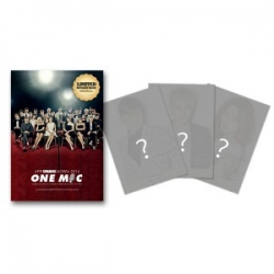[PRE-ORDER] JYP NATION KOREA 2014 ONE MIC Message Book