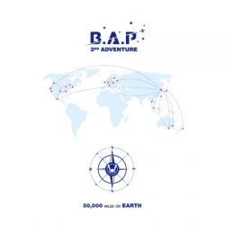 """[PRE-ORDER] B.A.P - 3rd ADVENTURE """"50,000 MILES ON EARTH"""""""