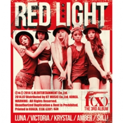 "[PRE-ORDER] f(x) - 3rd Album ""Red Light"" (TYPE B - Wild Cat Ver.)"