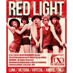 "[PRE-ORDER] f(x) - 3rd Album ""Red Light"" (TYPE B - Wild Cat Ver.)"