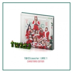 "[PRE-ORDER] TWICE - 3rd Mini Album ""TWICECOASTER : LANE 1"" (Christmas Edition)"