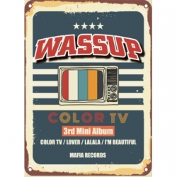 "[PRE-ORDER] WA$$UP - 3rd Mini Album ""COLOR TV"""