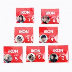 """[PRE-ORDER] iKON - DEBUT CONCERT [SHOW TIME] """"BADGE SET"""""""