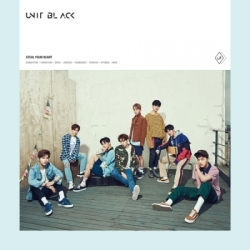 "[PRE-ORDER] UNIT BLACK - 1st Single Album ""뺏겠어 (STEAL YOUR HEART)"" (B Ver.)"