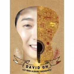 "[PRE-ORDER] DAVID OH - 1st Mini Album ""SKINSHIP"""