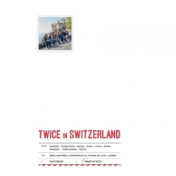 [PRE-ORDER] TWICE TV5 : TWICE IN SWITZERLAND PHOTOBOOK