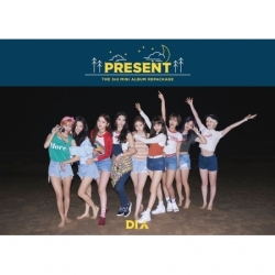 "[PRE-ORDER] DIA - 3rd Mini Album Repackage ""PRESENT"" (GOOD NIGHT VER.)"