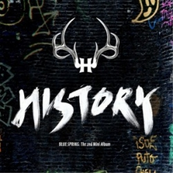 "[PRE-ORDER] History - 2nd Mini Album ""Blue Spring"""