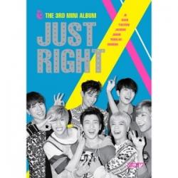 """[PRE-ORDER] GOT7 - 3rd Mini Album """"Just Right"""""""
