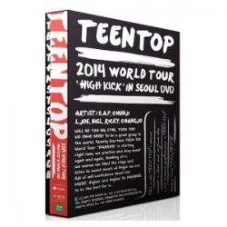 "[PRE-ORDER] 틴탑 (TEENTOP) - TEENTOP 2014 WORLD TOUR ""HIGH KICK IN SEOUL"""