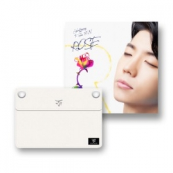 "[PRE-ORDER] Jang Woo Young (2PM) - 1st Single Album ""R.O.S.E"" + 2PM 2014 World Tour Go Crazy Goods Clutch (Design by Woo Young)"