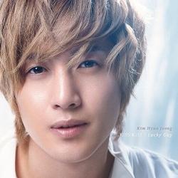 "[PRE-ORDER] KIM HYUN JOONG - Japan Album ""KISS KISS / Lucky Guy"" (DVD Limited Edition | Type A)"