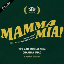 """[PRE-ORDER] SF9 - 4th Mini Album """"MAMMA MIA!"""" (Special Edition)"""