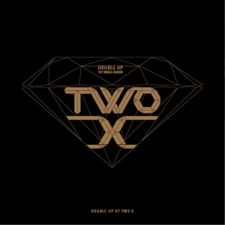 """[PRE-ORDER] Two X - 1st Single Album """"Double Up"""""""