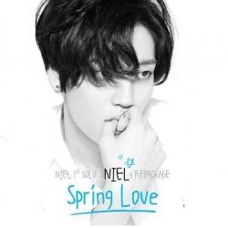 """[PRE-ORDER] NIEL (TEENTOP) - 1st Solo Repackage Album """"Spring Love"""""""