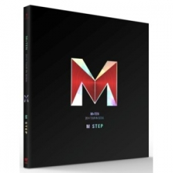 "[PRE-ORDER] M (Lee Min Woo - SHINHWA) - 2014 M+TEN TOUR IN SEOUL ""M STEP"""