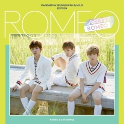 "[PRE-ORDER] ROMEO - 3rd Mini Album ""MIRO"" (Kangmin & Seunghwan & Milo Edition)"