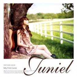 "[PRE-ORDER] JUNIEL - 1st Mini Album ""My First June"""