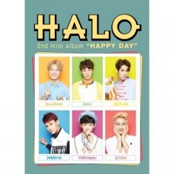 """[PRE-ORDER] HALO - 2nd Mini Album """"HAPPY DAY"""""""