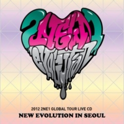 "[PRE-ORDER] 2NE1 - 2012 2NE1 Global Tour Live CD ""NEW EVOLUTION in SEOUL"" (CD)"