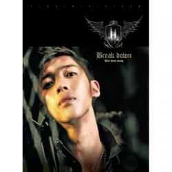 "[PRE-ORDER] KIM HYUN JOONG - 1st Mini Album ""BREAK DOWN"""