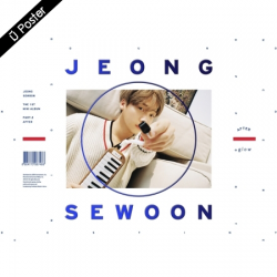 "[PRE-ORDER] JEONG SE WOON - 1st Mini Album Part.2 ""AFTER"" (GLOW VER.)"