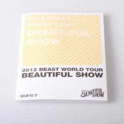 "[PRE-ORDER] BEAST - BEAUTIFUL SHOW ""PROGRAM BOOK"""