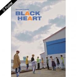 "[PRE-ORDER] UNB - 2nd Mini Album ""BLACK HEART"" (Heart Ver.)"