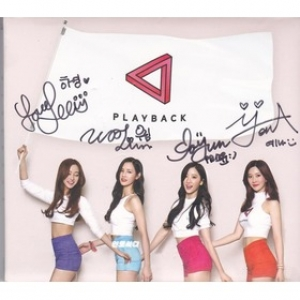 "[PRE-ORDER] Playback - 1st Single Album ""Playback"" + Autographed (มือ 2)"