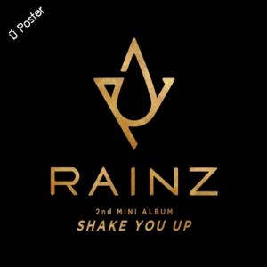 "[PRE-ORDER] RAINZ - 2nd Mini Album ""SHAKE YOU UP"""