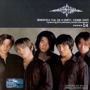 """[PRE-ORDER] SHINHWA - 4th Album """"HEY COME ON"""""""