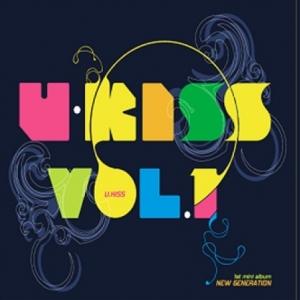 """[PRE-ORDER] U-KISS - 1st Mini Album """"N-GENERATION"""""""